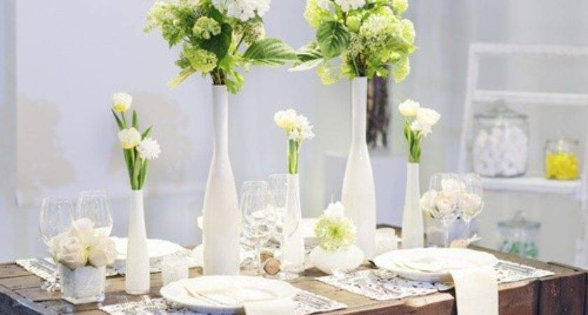 Simple Table Decorations Because Less Always More