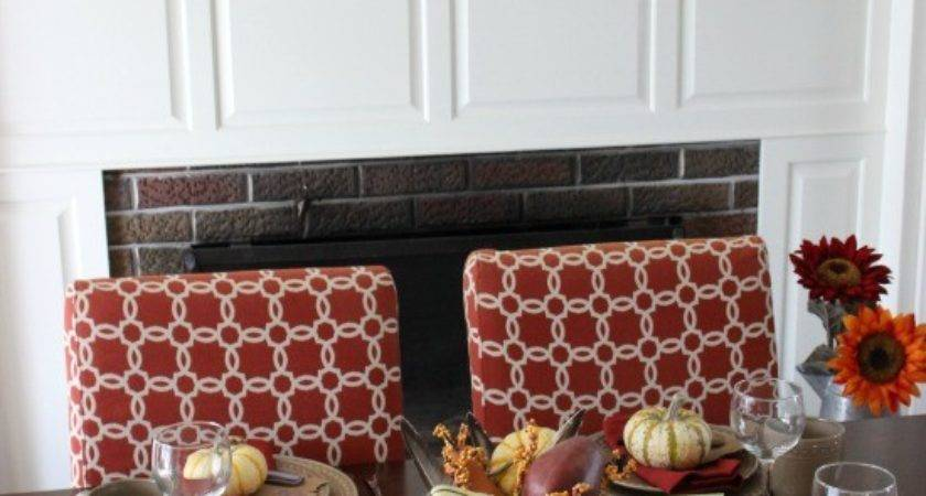 Simple Thanksgiving Table Decorations Paper Plates
