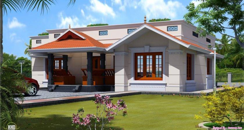 Single Floor Feet Home Design House Plans Building