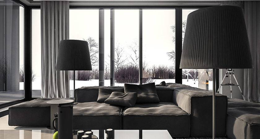 Single Home Interior Cool Shades Gray