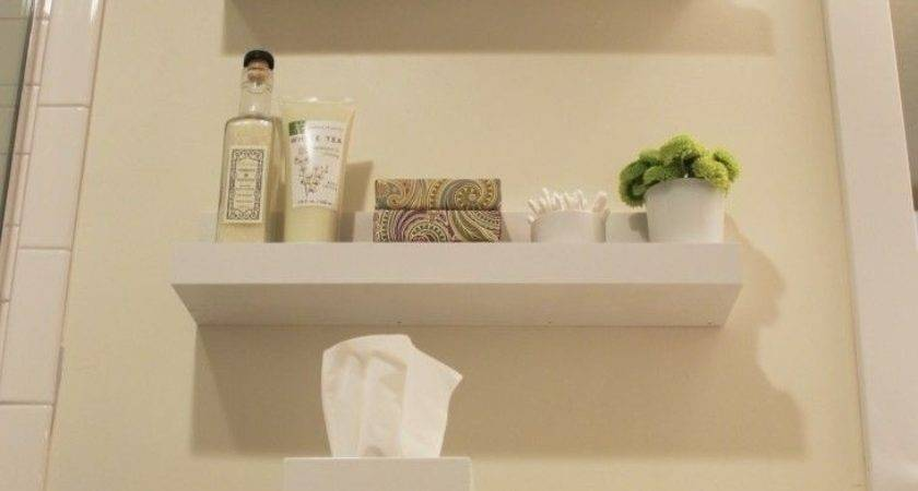 Small Bathroom Wall Shelf Shelves