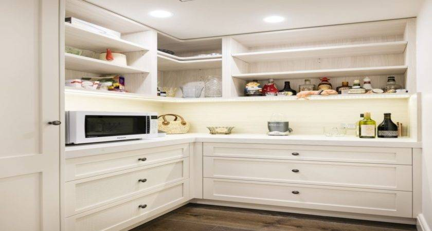 Small Butlers Pantry Backs Off Kitchen Next