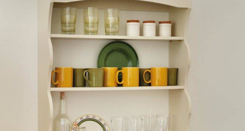 Small Kitchen Wall Shelves Ideas