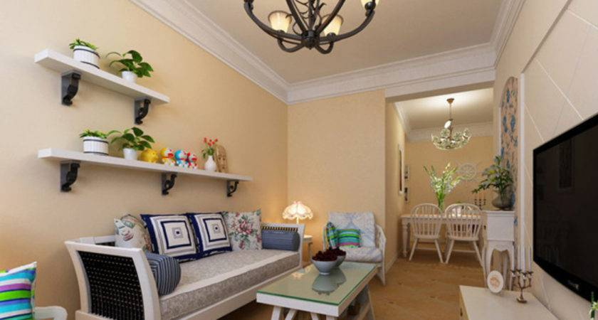 Small Living Room Interior Decoration Pastoral Style