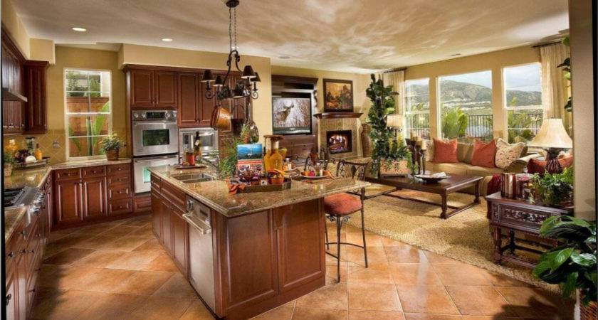 Small Open Plan Kitchen Living Room Dining Design