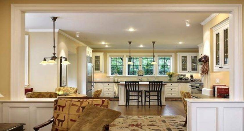 Small Open Plan Kitchen Living Room Home Design
