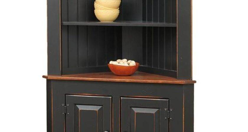 Small Room Design Corner Hutch Dining