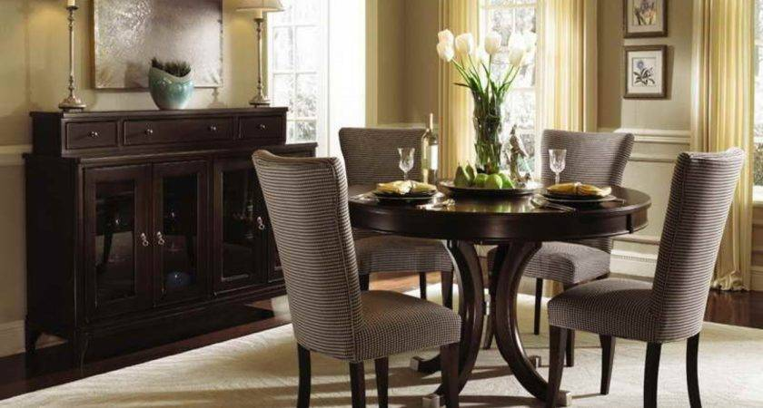 Small Room Design Round Dining Tables