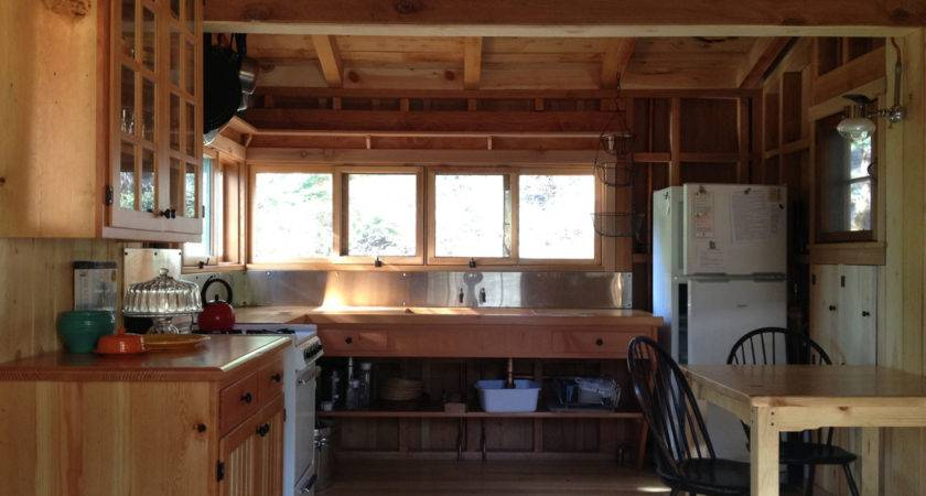 Small Rustic Cabin Kitchens Imgkid