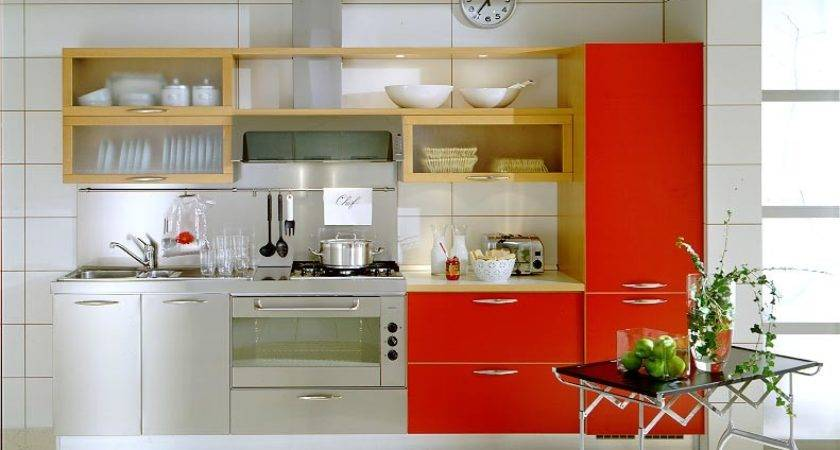 Small Space Modern Kitchen Design Ideas