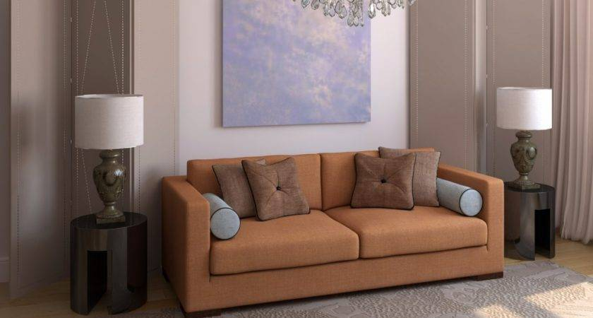 Sofas Small Living Rooms Nice Warm Colors Cushion