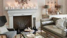 Soft Grey Cream Living Room Decorating