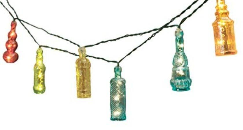 Solar Led String Lights Inch Fairy Light Bottles