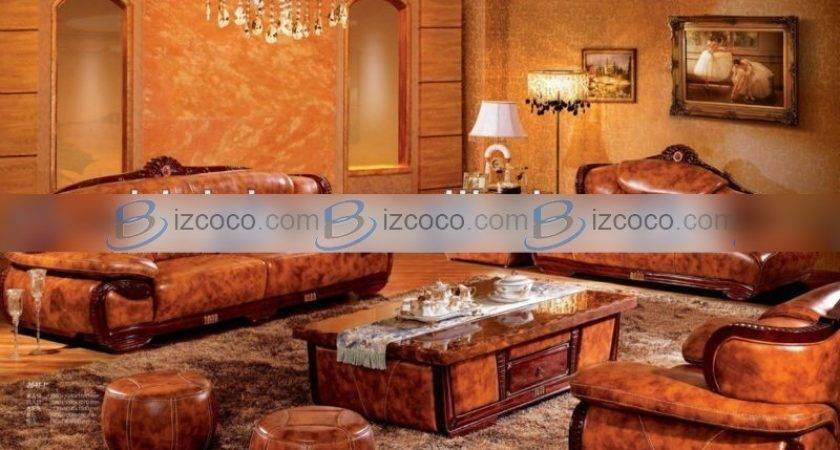 Southeast Asian Style Living Room Sofa Set Classic Luxury