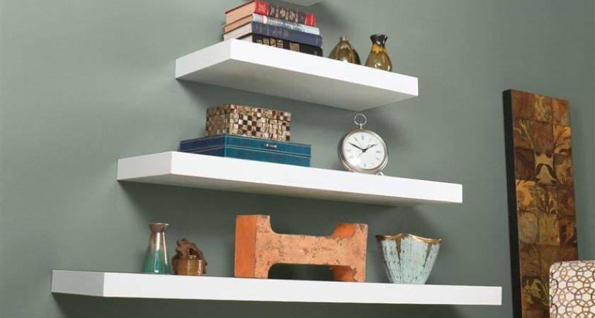 Southern Enterprises Chicago Floating Shelf White