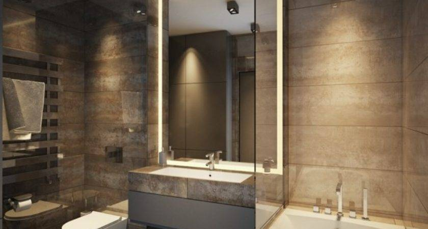 Spa Style Bathroom Interior Design Ideas
