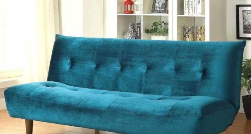 Splendid Couches Teal Alpine Sectional Sofa