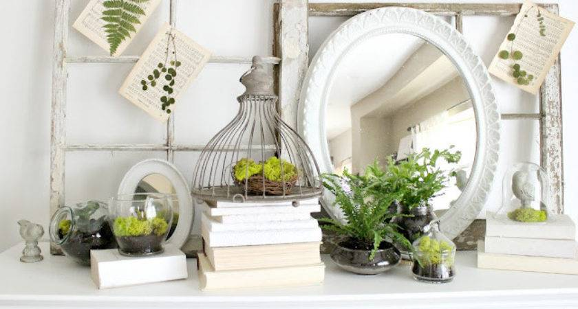 Spring Mantel Decorating Tips Roundup Inspired Room