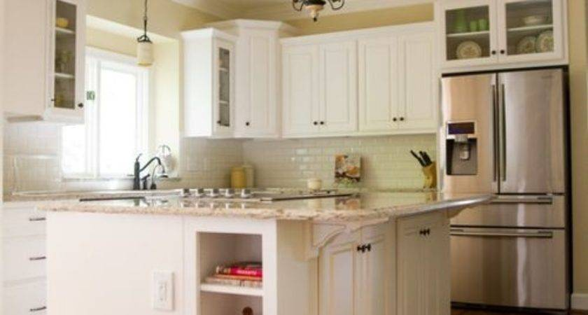 Staggered Cabinets Houzz