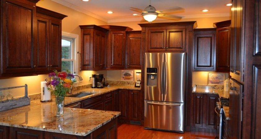 Staggered Height Kitchen Cabinets Cabinet