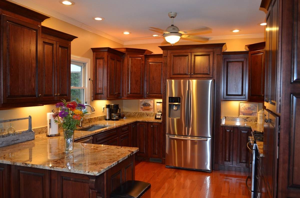 Staggered Height Kitchen Cabinets Cabinet - Designs Chaos