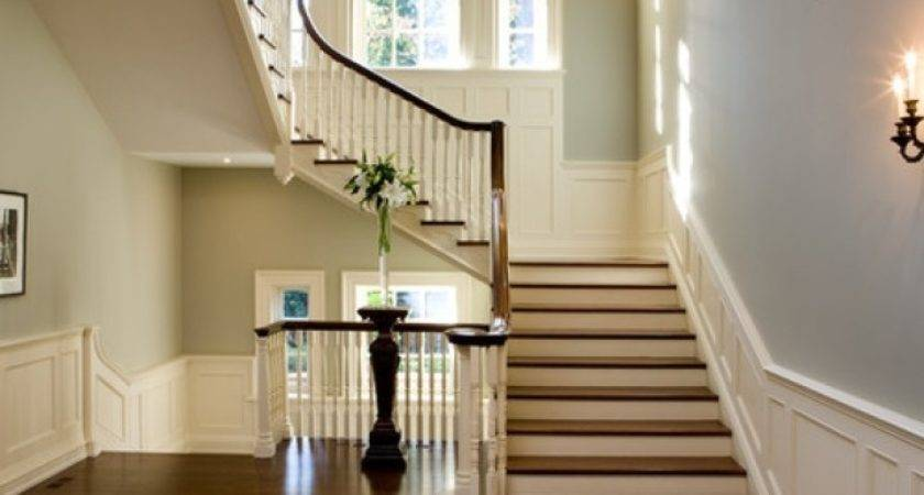 Stair Hall Houzz Interior Design Stairs Landing