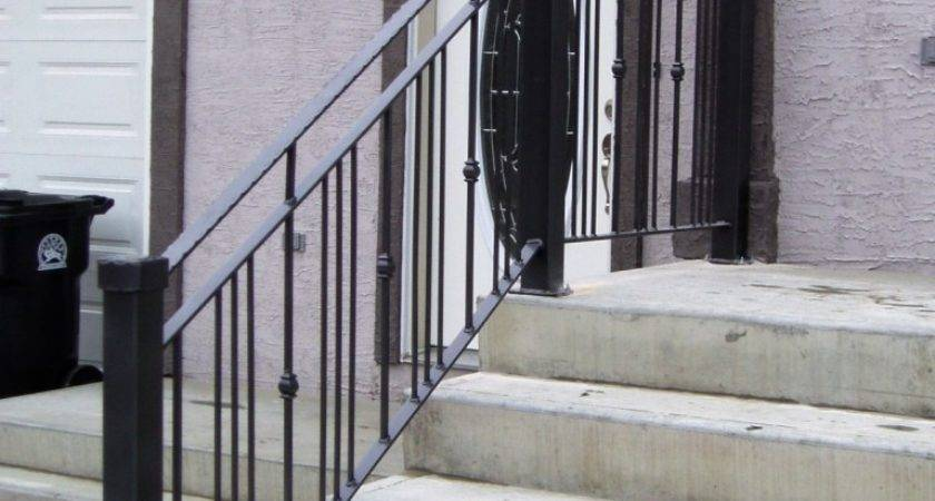 Stairs New Released Wrought Iron Stair Railing Kits