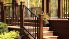 Stairs Right Steps Building Deck Stair Railing