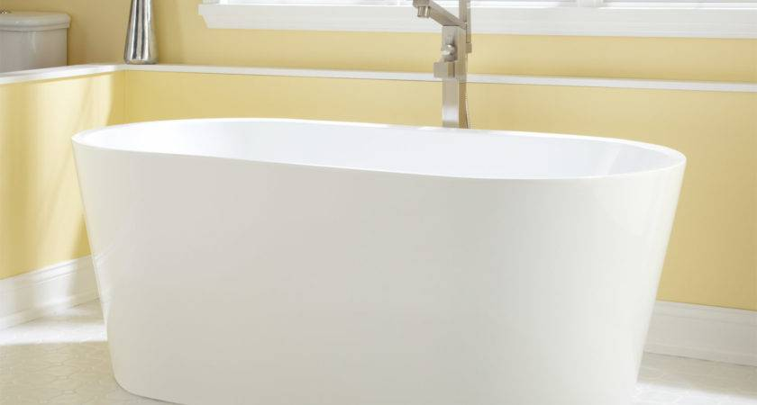 Stand Alone Bathtubs Nice Eden Acrylic Tub
