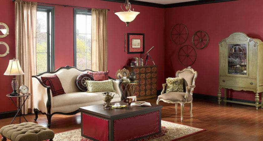 Steampunk Living Room Walls Spiced Wine Ceiling