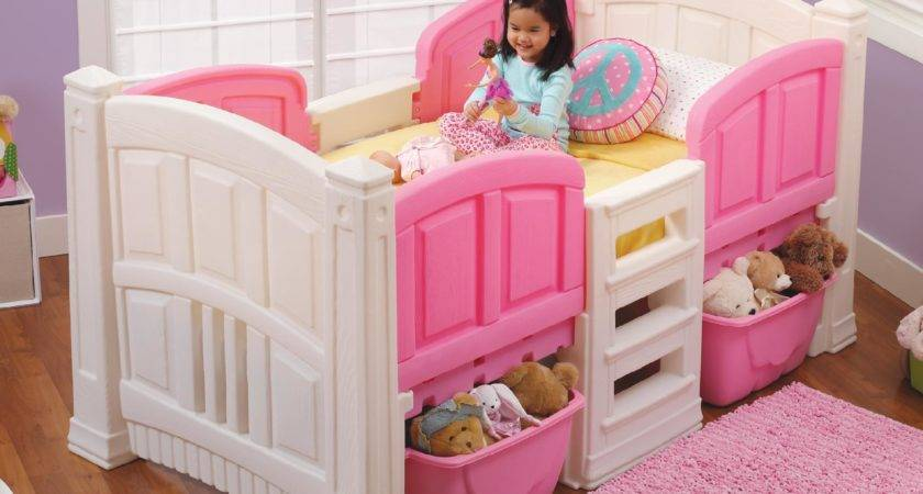 Step Girl Loft Storage Twin Bed Baby Toddler