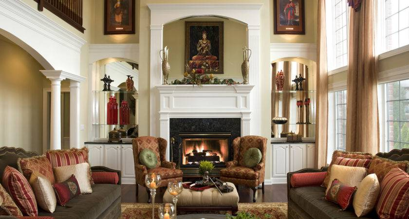 Steps Beautiful Living Room Northside Decorating