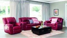 Stirling Pce Lounge Suite Red
