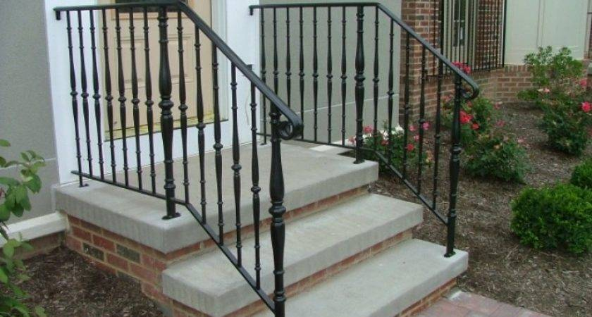 Stoop Step Railings Archives Finelli Ironworks Front