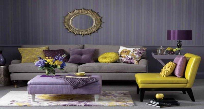 Striped Dining Room Chairs Purple Yellow Living