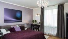 Stunning Black White Purple Bedrooms Home Design