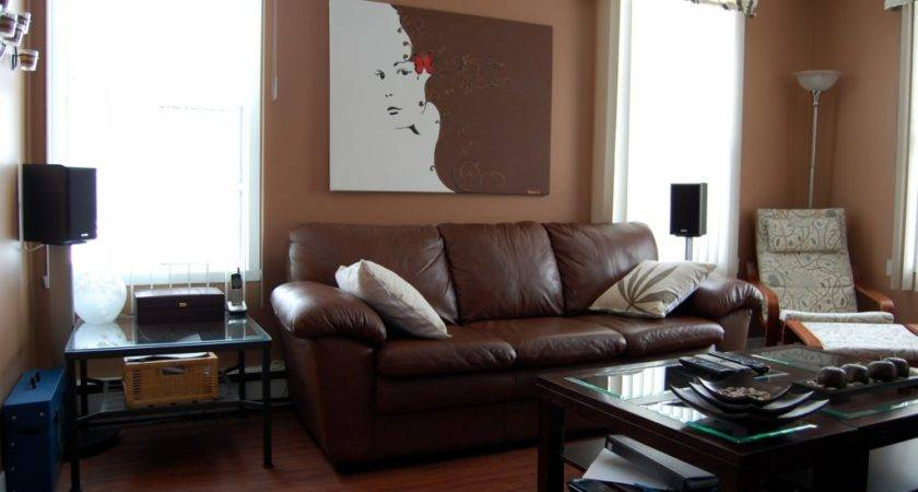 Stunning Living Room Decorating Ideas Brown Leather