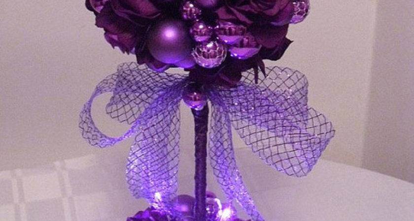Stunning Purple Christmas Decor Ideas Royal Celebration