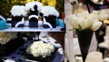 Stylish Black White Decoration Wedding
