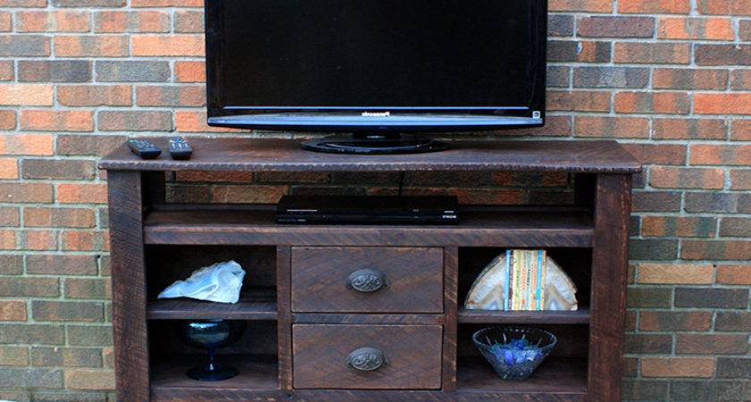 Supurb Reclaimed Wood Stands Media Consoles