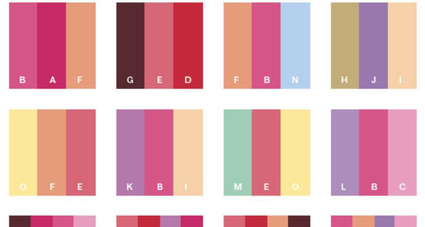 Sweet Color Schemes Combinations Palettes