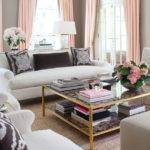 Sybaritic Spaces Inspiration Pink Grey Living Room