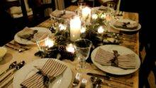 Table Centrepieces Dinner Parties