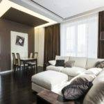 Taupe Bedrooms Living Room Interior
