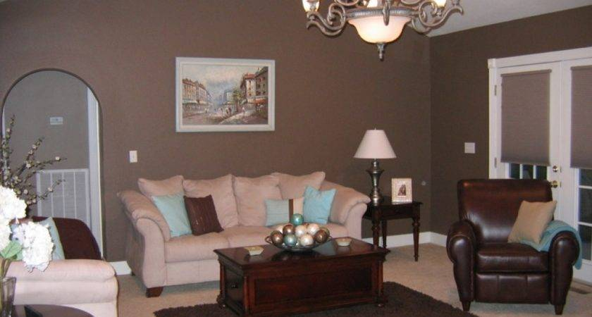 Taupe Color Living Room Gorgeous Open