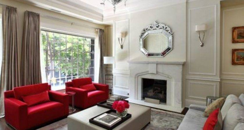 Taupe Red Houzz