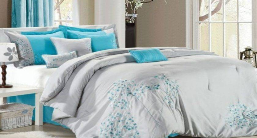 Teal Bedroom Curtains Grey Bedding Sets Cute