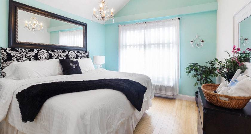 Teal Damask Bedroom Color Walls Accent