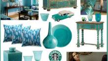 Teal Lounge Polyvore