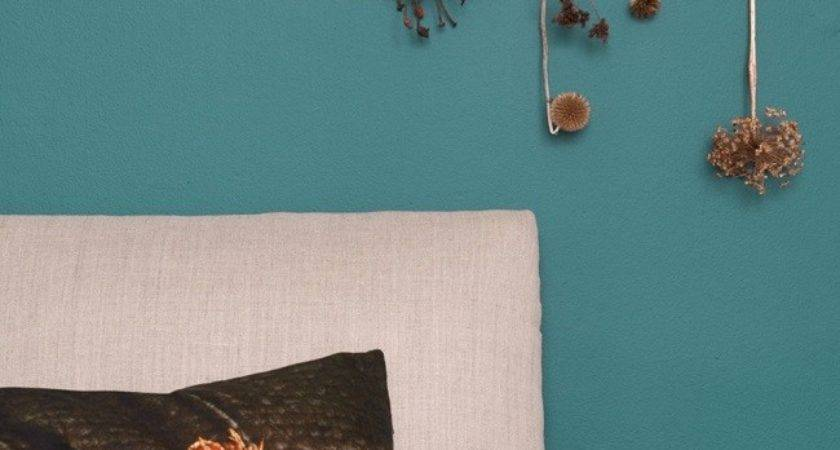 Teal Paint Trend Brings Blue Green Tranquillity Home